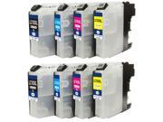 Superb Choice® Compatible ink Cartridge for Brother LC103(XL) (Pack of 2 sets) use in MFC-J450dw MFC-J470dw MFC-J870dw Printer