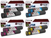 Laser Tek Services® 8PK Xerox Phaser 7700 Replacement Toner Cartridges (016-1947, 016-1944, 016-1945, 016-1946)