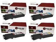 Laser Tek Services® 4PK Xerox Phaser 6600 Replacement Toner Cartridges (106R02228, 106R02225, 106R02226, 106R02227)