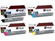 Laser Tek Services® 5PK Xerox Phaser 6250 Replacement Toner Cartridges (106R00675, 106R00672, 106R00673, 106R00674)
