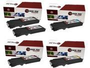 Laser Tek Services® 5PK Xerox Phaser 6600 Replacement Toner Cartridges (106R02228, 106R02225, 106R02226, 106R02227)