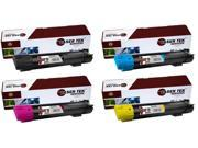 Laser Tek Services® 4PK Xerox Phaser 7800 Replacement Toner Cartridges (106R01569, 106R01566, 106R01567, 106R01568)