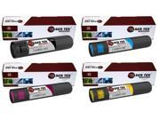 Laser Tek Services® 4PK Xerox Phaser 7760 Replacement Toner Cartridges (116R01163, 116R01160, 116R01161, 116R01162)