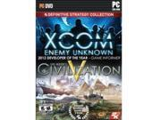 TAKE-TWO 41346 2K Definitive Strategy Collection PC   Includes XCOM: Enemy Unknown and Sid Meiers Civilization V