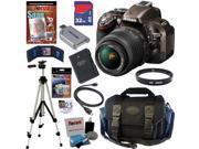 NIKON D5200 24.1 MP CMOS Digital SLR Camera (Bronze) with 18-55mm f/3.5-5.6 AF-S DX VR NIKKOR Zoom Lens + EN-EL14 Battery + 10pc Bundle 32GB Deluxe Accessory Kit