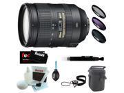 Nikon 28-300MM F3.5-5.6G ED VR AF-S Nikkor Zoom Lens + Deluxe Kit
