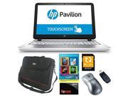 "HP Pavilion 15-p033cl AMD Quad-Core A10, 12GB, 1TB HD, 15.6"" Touch, DVD, Beats Audio, Win 8.1 with Complete PC Office Suite 4, ToteIt 15.6"" Notebook Bag, Sony 64GB SD Card + Bundle + $10 Gift Card"