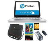 "HP Pavilion 15-p033cl AMD Quad-Core A10, 12GB, 1TB HD, 15.6"" Touch, DVD, Beats Audio, Win 8.1 with Complete PC Office Suite 4, ToteIt 15.6"" Notebook Bag, Sony 32GB SD Card + Bundle + $10 Gift Card"
