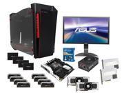 Intel Core i7-5960X Haswell-E 8 Core CPU, ASUS X99-DEULUXE MOBO, 2X EVGA GeForce GTX Titan Z 12GB, CORSAIR Dominator Platinum ...