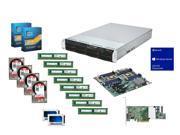 (2x) Intel Xeon E5-2630 2.3GHz, Supermicro MBD-X9DRI-F-O, Supermicro  Case w/ 700W PSU, Crucial 64GB RAM,(4x) WD  4TB HDD, ...