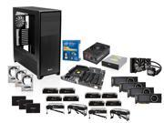 Intel Core i7-5960X 8-Core 3.0GHz, Asus X99-E WS, Corsair Dominator 64GB DDR4, (3x) WD Black 4TB, Corsair Obsidian 900D CASE, ...