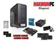 Maximum PC's May Turbo Build: Intel Core i7-5930K 3.5GHz 6 Core, Gigabyte GA-X99-UD4, G.Skill 16GB, Seagate 3TB HDD, (2) ...