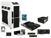 Intel Core i7-5820K Haswell-E 6-Core 3.3GHz, Gigabyte GA-X99-SLI, HyperX FURY 16GB DDR4 2666, (2x) Samsung 850 PRO 512GB ...