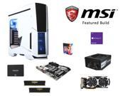 MSI Titanium Build: Intel Core i7-6700K 4.0GHz Quad-Core CPU, MSI Z170A XPOWER TITANIUM MOBO, CORSAIR Vengeance 16GB DDR4 ...