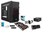 Intel Core i5-6600K Skylake Quad-Core 3.5GHz, GIGABYTE G1 Gaming GA-Z170X-Gaming 3, HyperX FURY 16GB DDR4 2133, Corsair Carbide ...