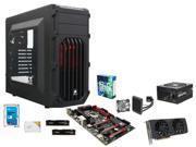 Intel Core i5-6600K Skylake Quad-Core 3.5GHz, GIGABYTE G1 Gaming GA-Z170X-Gaming 3, Kingston HyperX FURY 16GB DDR4 2133, ...
