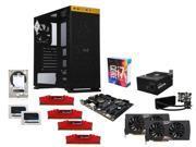 Gaming Series GIG-K160M: Intel i7-6700K Skylake Quad-Core 4.0GHz, Z170 LGA 1151, 2 X G.SkilL 16GB DDR4 3000, (2x) EVGA GTX ...