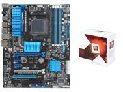 AMD FX-6350 Vishera 6-Core 3.9GHz CPU, ASUS M5A99X EVO R2.0 AM3+ ATX MOBO