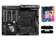 MSI X99A GAMING PRO CARBON ATX MOBO, Intel i7-6900K, G.SKILL Ripjaws V Series 32GB ...