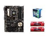 Intel Core i5-6400 Skylake Quad-Core 2.7GHz CPU, ASUS Z170-P 1151 ATX MOBO, GeiL EVO ...