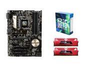 Intel Core i5-6600K Skylake Quad-Core 3.5GHz CPU, ASUS Z170-P 1151 ATX MOBO, GeiL ...