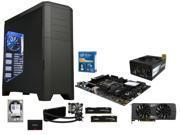 Intel Core i7-5930K Haswell-E 6-Core, ASUS X99-A/USB 2011-v3 ATX, HyperX FURY 16GB DDR4 2666, Corsair Hydro H100i CPU Liquid ...