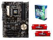 Intel Core i5-6600K Skylake Quad-Core 3.5GHz CPU, ASUS Z170-P ATX MOBO, GeIL EVO ...