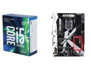 Intel i5-7600K Kaby Lake 3.8GHz CPU, ASRock Z270 KILLER SLI/AC