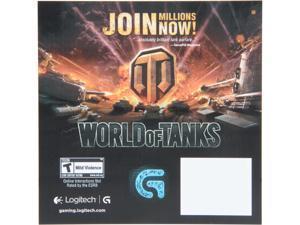 Logitech Gift - World of Tanks Promotion Flyer