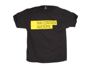 May Contain Awesome Black T-Shirts Large