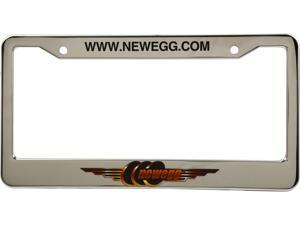 Newegg License Plate Cover, Golden Newegg Logo