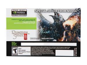 NVIDIA Gift - Dungeon Siege-III Game Coupon