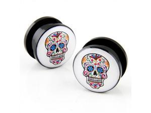 Screw on Acrylic Plug - 9/16""