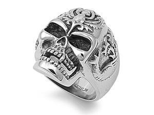 Stainless Steel  Casting  Ring - Skull