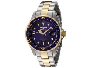 Invicta Men's Two Tone Blue Dial