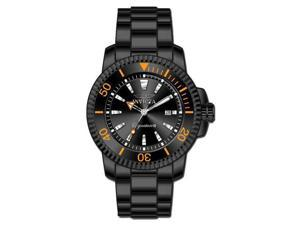Invicta Signature II Black Orange Date Mens Watch 7288