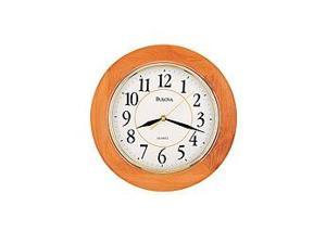 Bulova Madeline Home and Office White Dial Wall Clock #C4461