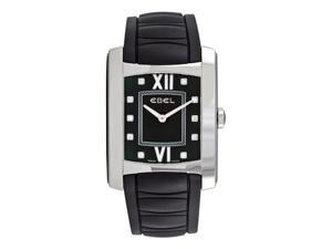 Ebel Brasilia Ladies Black Strap Diamond Watch 9256M43/158BC35606XS