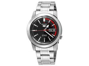 Seiko 5 Men's SNKK31 Black Dial Self Winding Automatic Watch