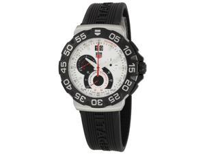 Tag Heuer Formula 1 Mens Black Rubber Strap Chronograph Watch CAH1011.FT6026