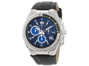 Technomarine Steel Regular Chronograph Blue Dial Mens Watch 110003L