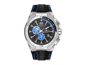 TechnoMarine Cruise Steel Mens Blue Chronograph Dial Watch