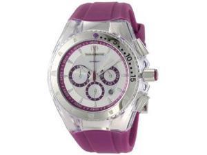 Technomarine Cruise Lipstick Violet Rubber Strap Chronograph Unisex Watch 111032