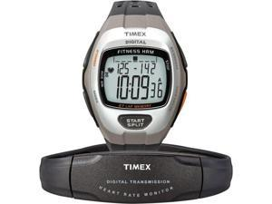 Timex T5H911 Zone Trainer Digital Heart Rate Monitor Dark Grey Watch