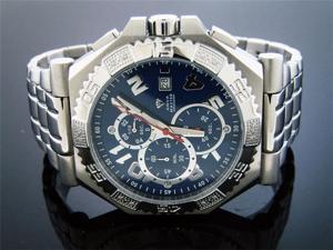 New Men's Aqua Master Warfair 0.12 CT Diamonds Watch