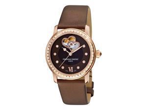 Frederique Constant Ladies Automatic Double Heart Beat Diamond Watch FC-310CDHB2PD4