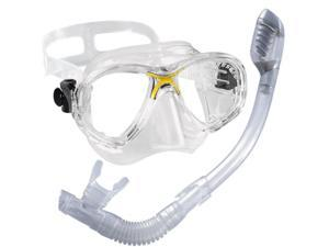 Cressi Perla Junior Scuba Dive Mask Kids Dry Snorkel Set