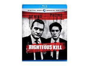 Righteous Kill (Blu-Ray) Robert De Niro&#59; Al Pacino&#59; Curtis Jackson&#59; Carla Gugino&#59; John Leguizamo&#59; Donnie Wahlberg&#59; Dan Futterman&#59; ...
