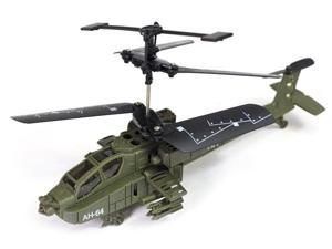 Mini Military Apache RC Helicopter (Syma, S012 AH-64)