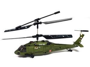 S013 Black Hawk Remote Control RC Helicopter